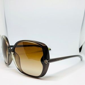 Tiffany & Co. 4054-B Brown Over Sized Sunglasses